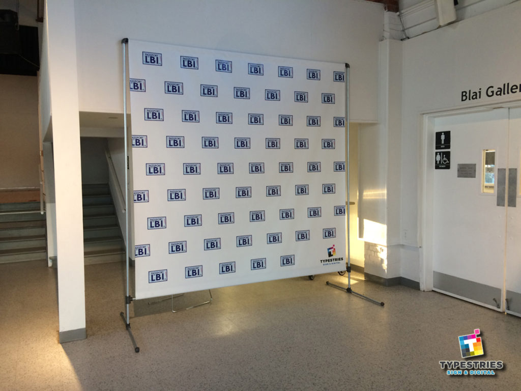 Step and repeat banner backdrops on Long Beach Island in Ocean County
