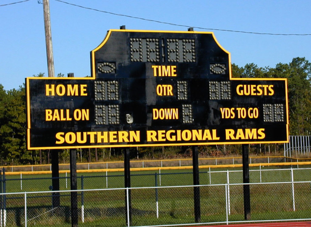 Refresh your weather worn scoreboards with new lettering, signs, logos and graphics.
