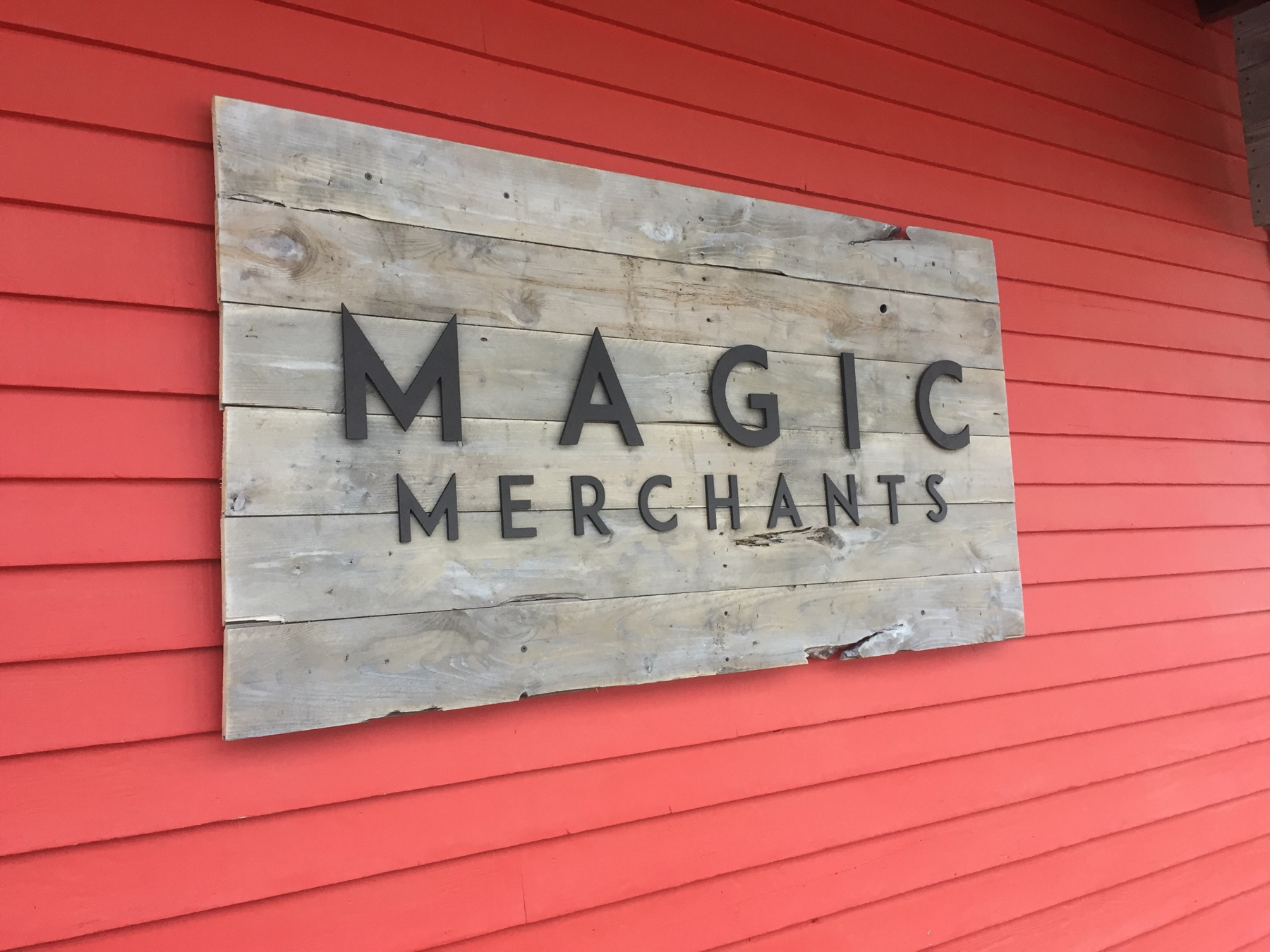Handmade Retail Signs